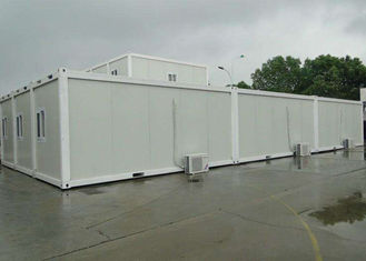 China White Mobile Container Homes Environment Friendly Assembly 6000mm * 2438mm * 2896mm supplier