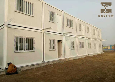 China Labor Quarters Pre Built Container Homes Customized Color With Bathroom And Kitchen supplier
