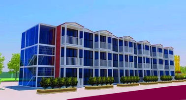 China 3 Layers Prefab Commercial Buildings , Flexible Assembly Commercial Steel Building Kits supplier