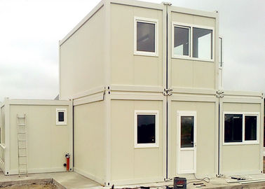 China Commercial Reusable Metal Shipping Containers For House - Building Project supplier