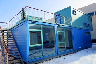 China Customized Self - Regulating Prefab Commercial Buildings Anti Earthquake With Bathroom supplier