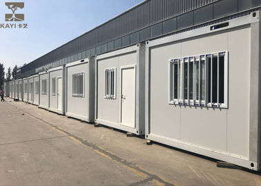 China Single Layer Pre Made Container Homes With Standard Galvanized Steel Frame Structure supplier