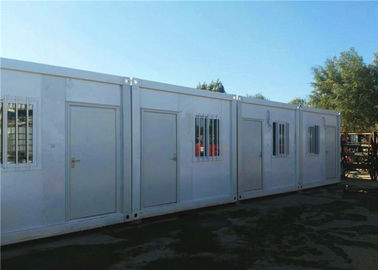 China Blend Color Flat Pack Container House Eco Friendly For Large Construction Filed supplier