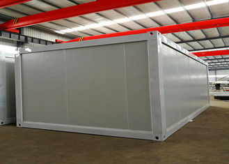 China White Steel Structure Living Container House , Portable Living Containers With Power Facilities supplier