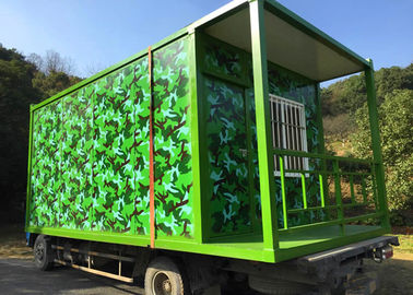 China Camouflage Color Living Container House For Honorable Person CS Game Exercise Base supplier