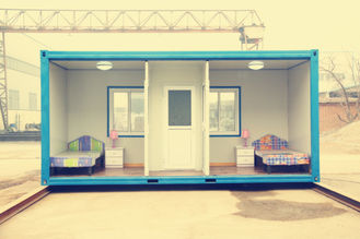 China Dormitory Mobile Container Homes , Steel Shipping Container For Moving House supplier