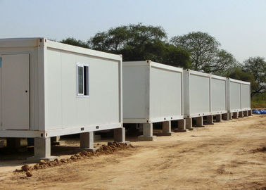 China Safe Stable Metal Storage Container Homes 15mm Plywood 6000mm * 3000mm * 3000mm supplier