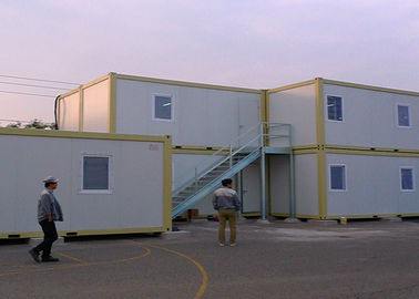 China External Stairs Storage Container Houses , Shipping Container Storage For Warehouse supplier