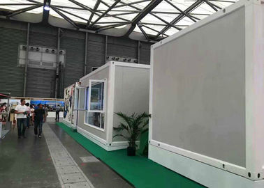 China Customized Size Prefabricated Container House , Living Container House For Toursim supplier