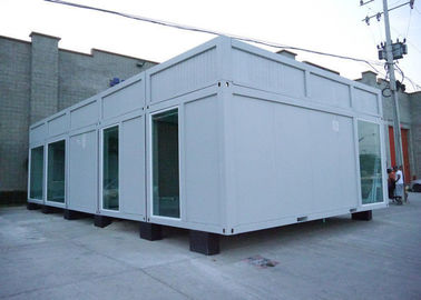 China Waterproof Prefabricated Shipping Container 6000 * 3000 * 3000 mm Steel Structure supplier
