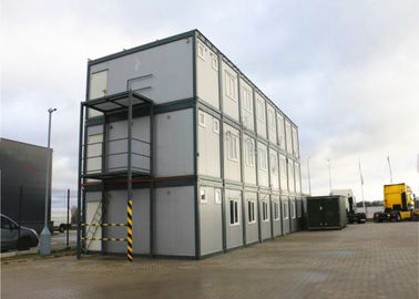 China Customized Flat Pack Container House , Flexible Assembly Flat Pack Modular Buildings supplier