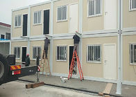 China Safe Comfortable Combined Container , Standard Assembly Living Container House factory