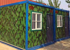 China Flexible Exquisite Mobile Container Homes , Kids Small Moving Containers With Decoration factory