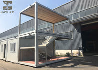 China Optional Color Prefabricated Container House Customizable With Internal Staircase factory