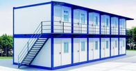 China Double Deck Custom Shipping Container Homes Flexible Assembly For School Dormitory factory