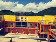 China Customized Prefab Commercial Buildings S Type Interface For School Dormitory factory