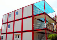 China Warm Cool Steel Container Houses , Metal Container Houses With Air Conditioner factory