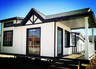 China Galvanized Flexible Steel Container Houses , Commercial Steel Storage Container Homes factory