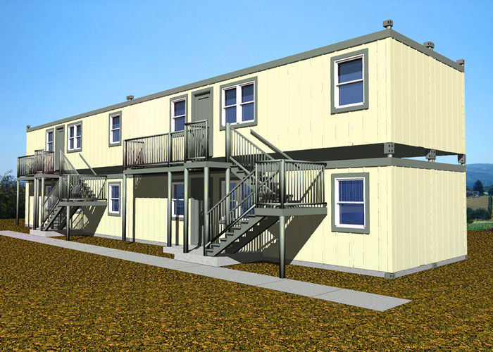 Double Deck Villa Large Container Homes Easy Installation With All