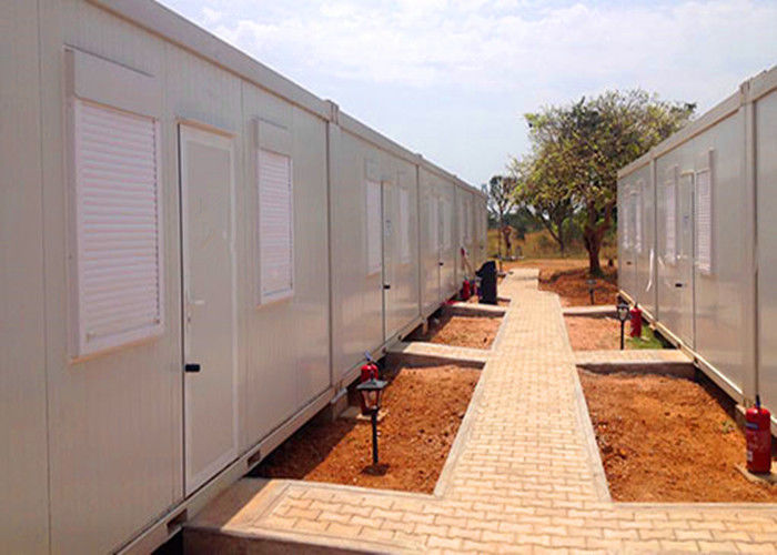 Shutter Windows Storage Container Houses Freight Storage