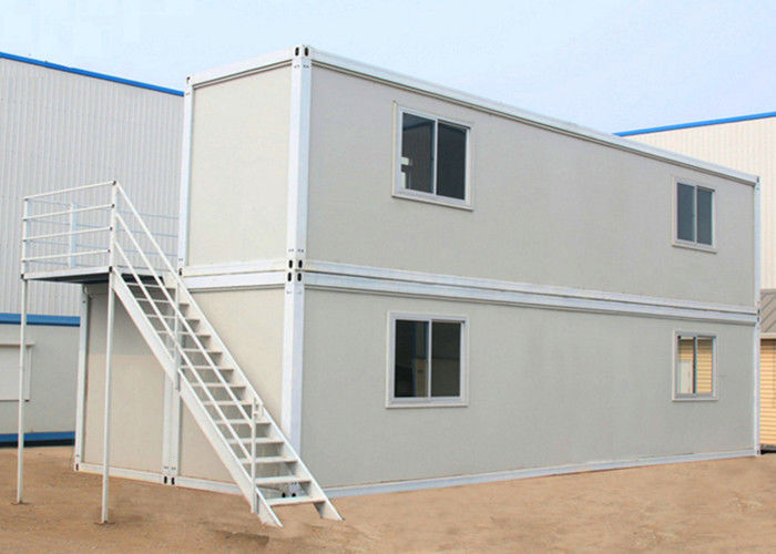 Two Layers Prefabricated Container House  40ft Container Home With Insulation Wall Panel & Two Layers Prefabricated Container House  40ft Container Home With ...