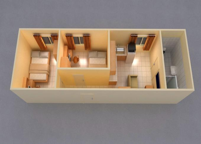 Leisure Vacation Living Container House With Full Set Of Living Facilities