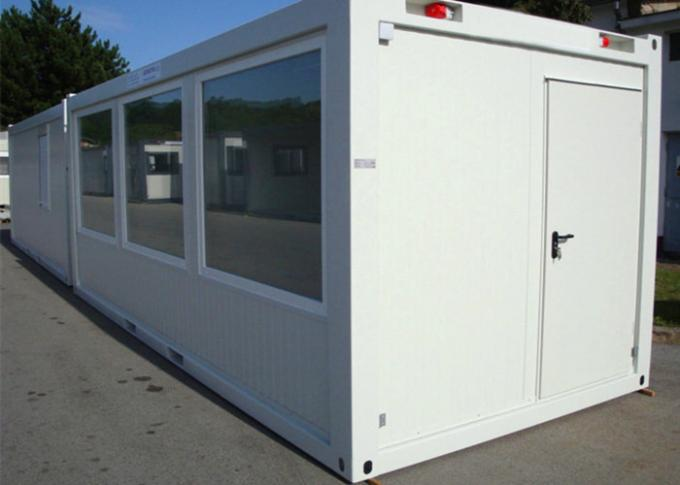 External Stairs Storage Container Houses , Shipping Container Storage For Warehouse