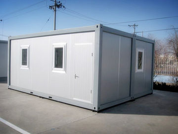 Cerulean Novel Shipping Container Mobile Home Stable With Double - Glazing Window