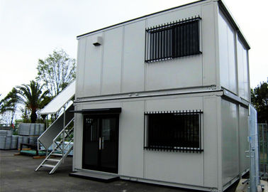 Easy Installation Combined Container , Convienient Cinema Prefab Container Homes