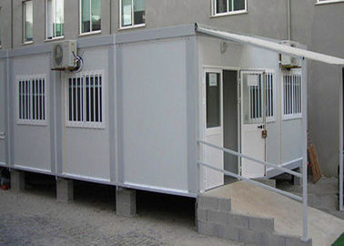 China Flexible Assembly Pre Made Container House Safe Comfortable With Air - Conditioning factory