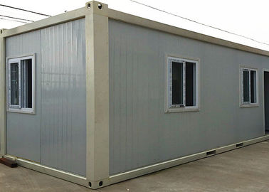 China White Living Container House With Three Sliding Windows And Burglar - Proof Door factory