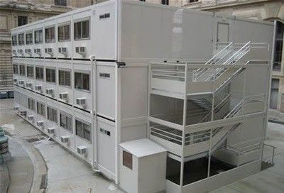 Economical Practical Steel Container Houses , Safe Steel Shipping Container Homes